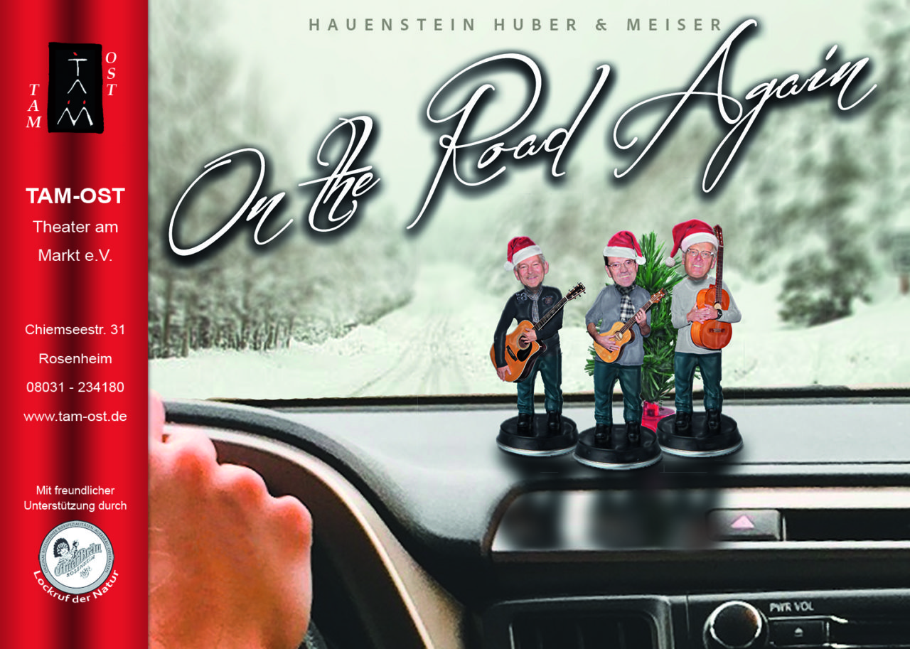 Miniplakat - On the Road again - 2017