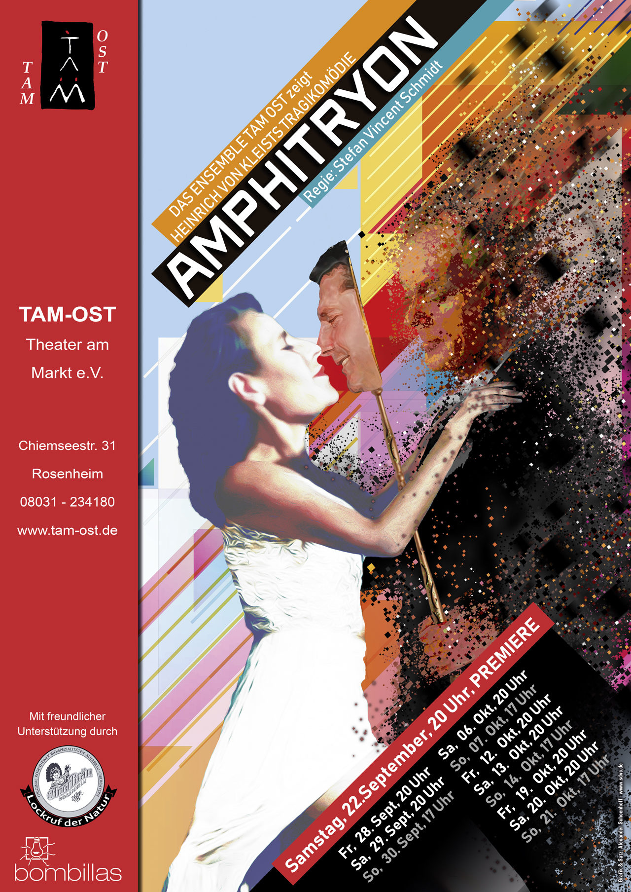 Plakat - Amphitryon - 2018
