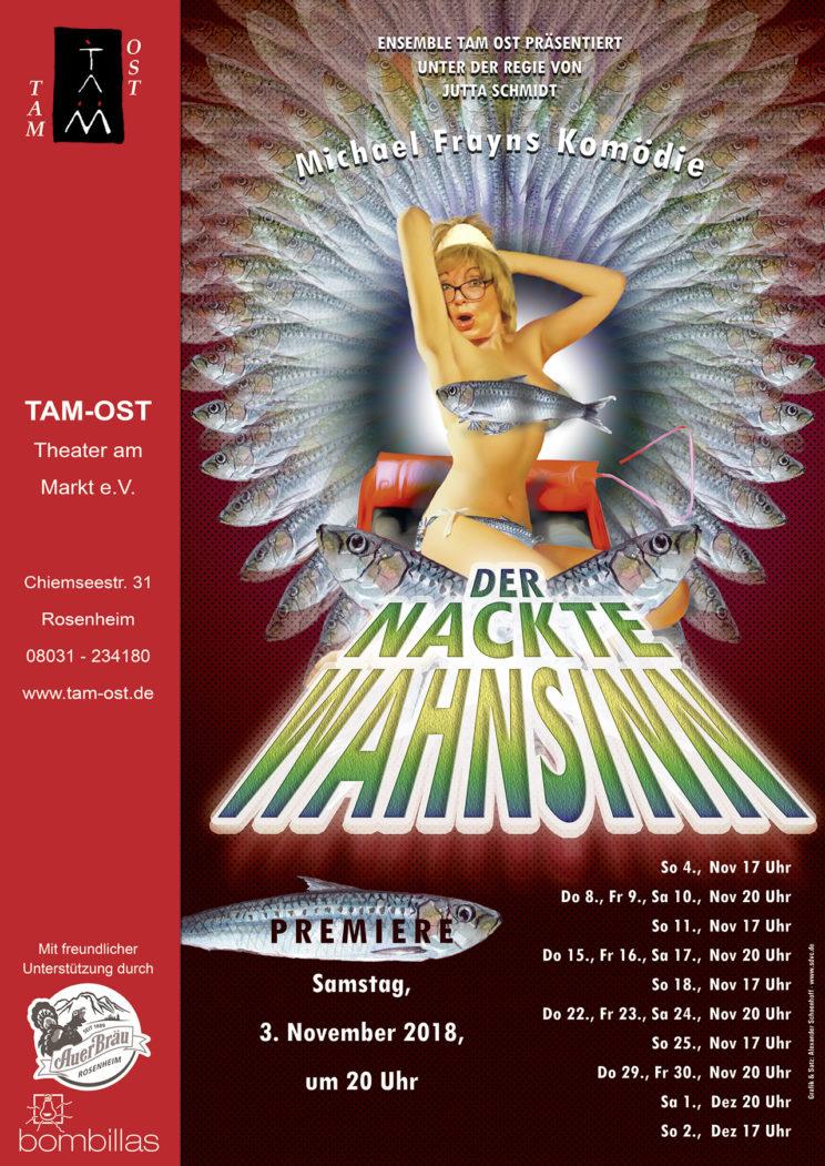 Plakat - Der nackte Wahnsinn - 2018/19