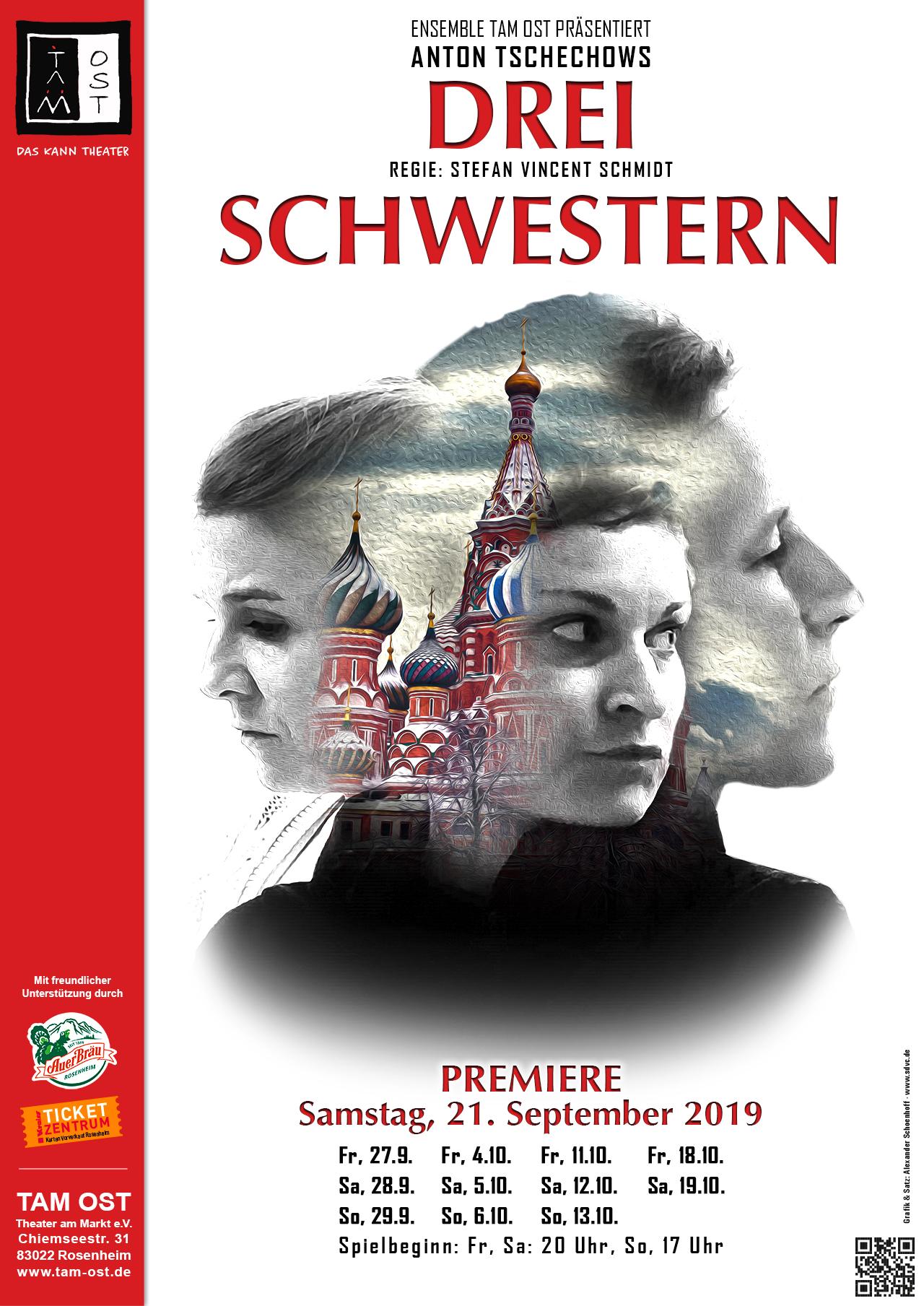 Plakat - Drei Schwestern - 2019