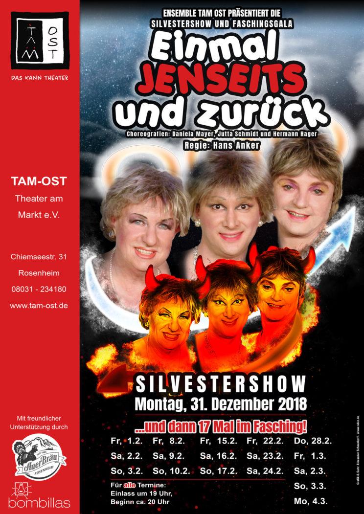 Plakat - Einmal Jenseits und zurück - 2018